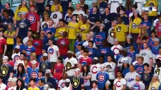 Fox Put 'Virtual Fans' In The Seats For Cubs-Brewers And It Was Extremely Weird