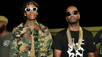 Juicy J Declares That He And Wiz Khalifa Are 'Gah Damn High' In A Comical New Video