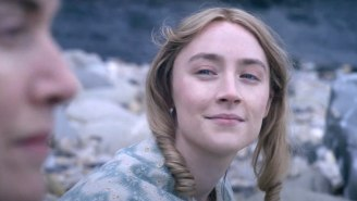 The Romantic 'Ammonite' Trailer Is Full Of Longing Gazes Between Kate Winslet And Saoirse Ronan