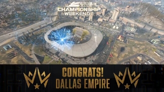 Dallas Empire Dominated Atlanta FaZe To Win The Inaugural Call Of Duty League Championship