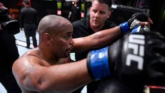 Daniel Cormier Suffered A Torn Cornea In His Fight With Stipe Miocic At UFC 252
