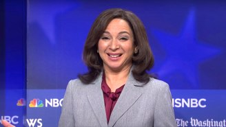 'SNL' Boss Lorne Michaels Sent Maya Rudolph A Mysterious Kamala Harris Text