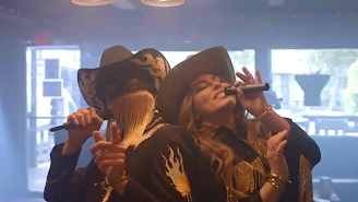 Orville Peck And Shania Twain Sing A Dive Bar Duet Of 'Legends Never Die' On 'The Tonight Show'