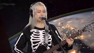 Phoebe Bridgers Sings 'Kyoto' In Outer Space For A Live Performance On KEXP