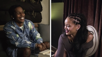 Rihanna And ASAP Rocky Answer Each Other's Beauty Questions In A Playful 'Face-To-Face' Interview