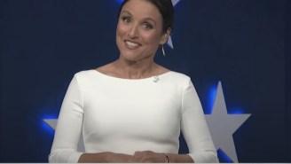 'Veep' Star Julia Louis-Dreyfus Shredded Trump, Putin, Facebook, And Fox News To Open The DNC's Final Night