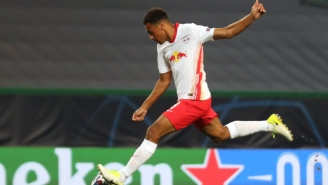 American Midfielder Tyler Adams Scored The Goal That Put RB Leipzig Into The Champions League Semifinals