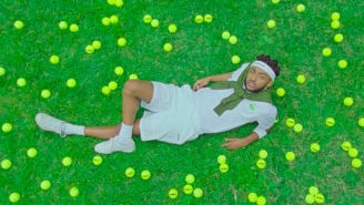Aminé Is A Laid-Back Tennis Star In His Lighthearted 'Compensating' Video