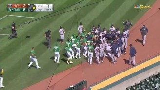 The A's And Astros Brawled After Ramon Laureano Charged Houston's Dugout