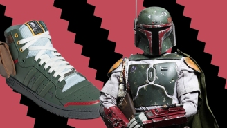 Adidas Is Dropping A Boba Fett Sneaker To Celebrate The 40th Anniversary Of 'The Empire Strikes Back'