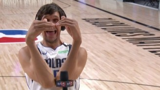 Boban Marjanovic And The 'Inside The NBA' Crew Are A Match Made In Heaven
