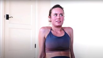 Brie Larson Shared Her Quarantine Workout, So You Can Look Like A Marvel Superhero, Too