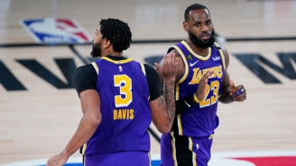 LeBron Says It's 'Humbling' For Him And Anthony Davis To Be Mentioned With Shaq And Kobe