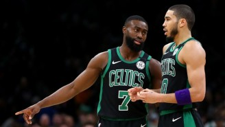 Jayson Tatum And Jaylen Brown Led The Celtics To A Game 1 Victory Over The 76ers