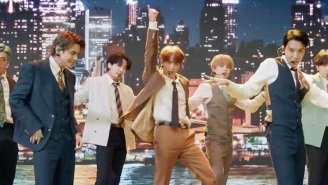 BTS Hit The City Streets For Their Debut Performance Of 'Dynamite' At The 2020 VMAs