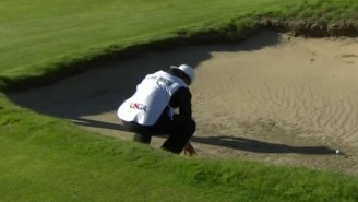 A Caddie Touching The Sand Caused His Player To Lose A U.S. Amateur Match