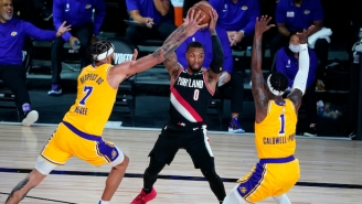 The Blazers Pulled Off A Game 1 Win Over The Lakers Behind Another Huge Game From Damian Lillard