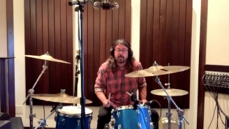 Dave Grohl Faces Off Against 10-Year-Old Nandi Bushell In A Drum Battle