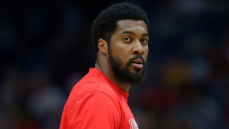 Someone Reportedly Stole Derrick Favors' Birthday Cake Inside The Bubble