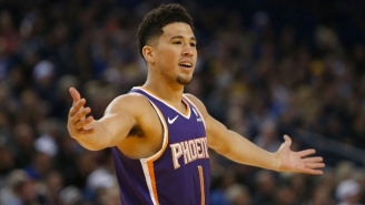 Devin Booker Got Ejected Against The Lakers After Two Of The Softest Technical Fouls You'll See