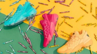 Adidas And Donovan Mitchell Debuted The D.O.N. Issue #2 Including An Upcoming Crayola Pack