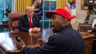 Donald Trump Addresses Rumors Of Him Helping Kanye West Get On Presidential Ballots