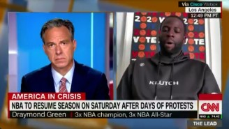 Draymond Green On Trump's NBA Comments: 'He's A Master Manipulator'