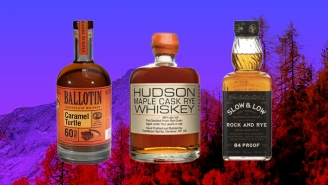 The Best Flavored Whiskeys To Prepare Your Palate For Fall