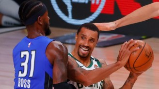 George Hill Said Skipping The National Anthem Wasn't A Protest, He Just Had To 'Take A Sh*t'