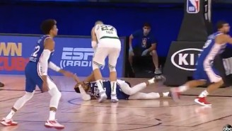 Tobias Harris Was Able To Return To Play After A Scary Fall Against The Celtics (UPDATE)