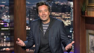 Jimmy Fallon Roasts The NRA With 'Thoughts And Prayers' Following A Lawsuit To Dissolve The Organization