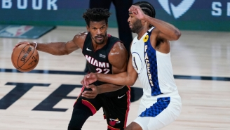 The Heat Moved One Game Away From A Sweep With A Game 3 Win Over The Pacers