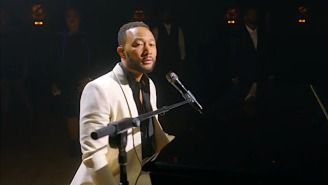 John Legend Was Optimistic In His Stirring 2020 DNC Performance Of 'Never Break'