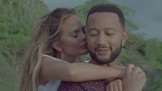 John Legend Uses His Scenic 'Wild' Video To Reveal He And Chrissy Teigen Have A Third Child On The Way
