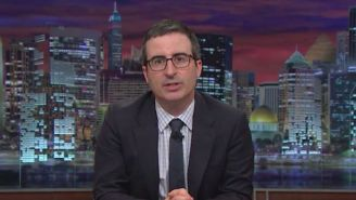John Oliver Is Getting A Sewage Plant Named After Him Following His Attack On A Connecticut City