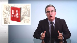 John Oliver Details The 'Three Big Mistakes' That Need To Be Corrected In Teaching U.S. History