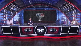 Watch Kenny Smith Leave The 'NBA On TNT' Set In Support Of Striking NBA Players