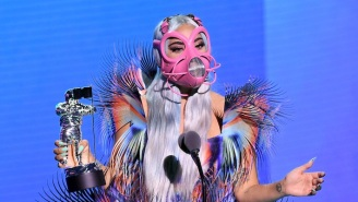 Lady Gaga's Many Masks Were The Real Star Of The 2020 VMAs And Fans Loved It