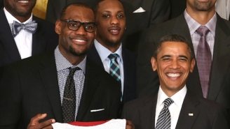 Here's President Obama's Statement On His Conversation With LeBron And Others About The Wildcat Strike