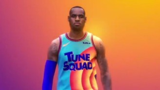 LeBron James Showed Off The New Tune Squad 'Space Jam' Uniforms
