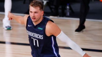 Luka Doncic Hit A Ridiculous Stepback Three To Beat The Clippers In Overtime