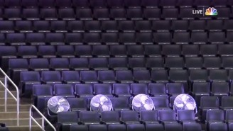 The NHL Thanked The 'Fans' That Made It Inside The League's Bubble