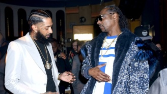 Snoop Dogg Commemorates Nipsey Hussle's 35th Birthday With The Heartbroken 'Nipsey Blue'