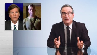 John Oliver Is As Disgusted As Everyone Else At Tucker Carlson's Defense Of The Kenosha White Teen Vigilante