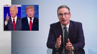 John Oliver Has Some Light Praise And Damning CriticismOf The Democrats' StrategyAgainst Trump