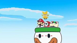 'Paper Mario: The Origami King' Offers A Delightful Distraction From A World Crumpled Beyond Repair