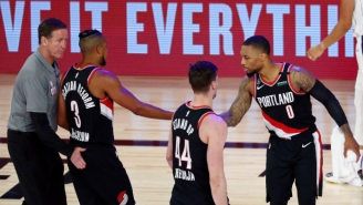 Carmelo Anthony Thinks Portland Is No Ordinary Eighth Seed, And He's Right