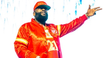 Rick Ross Debuted An Unreleased Verse From Kanye West's 'Famous' During His Verzuz Battle