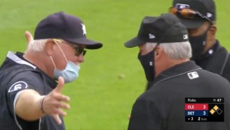 Umpires Made Tigers Manager Ron Gardenhire Fix His Mask In The Middle Of An Argument