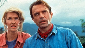 Sam Neill Calls 'Jurassic World: Dominion' The 'Best Yet' As He Lovingly Reunites With… His Hat?